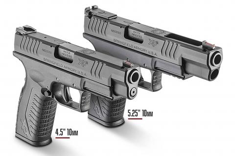 Le pistole Springfield Armory XD(M) ora anche in calibro 10mm Auto!