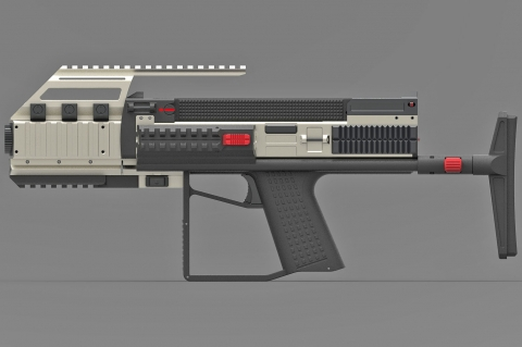 Tecnostudio Engineering's Bullpup Pistol TSE