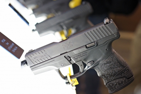 Walther PPS M2 semiautomatic pistol