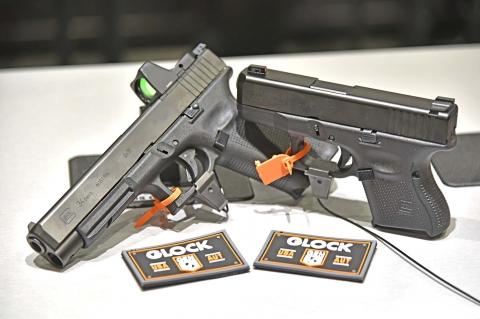 Glock 26 Gen5 e Glock 34 Gen5 MOS
