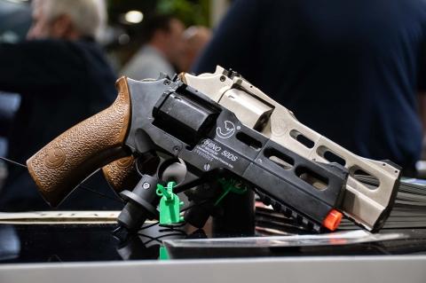 Chiappa Rhino airsoft and airgun revolver variants