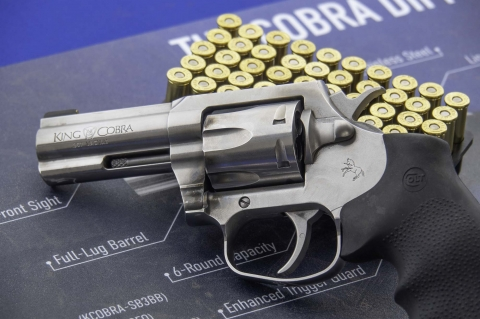 Colt's new King Cobra .357 Magnum revolver