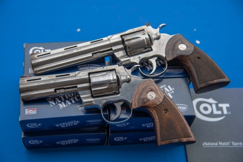 The Colt Python revolver is back!