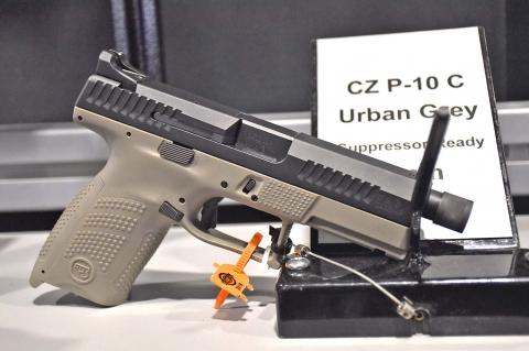 CZ P10C Urban Grey Suppressor Ready