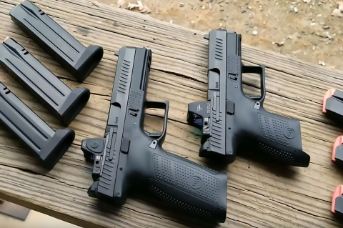 Optics Ready CZ P-10 F, CZ P-10 C and CZ P-10 S 9mm pistols