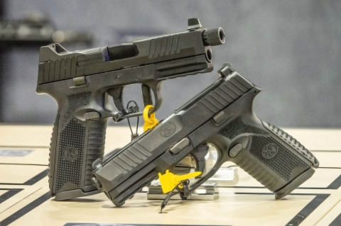 FN America FN 509 Tactical Black and FN 509 Midsize pistols