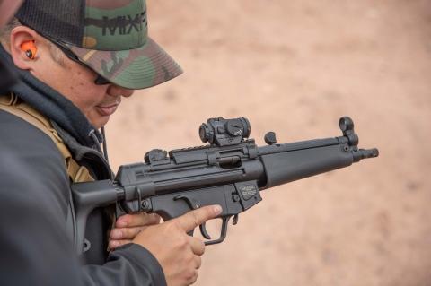 Heckler & Koch SP5 9mm semi-automatic pistol