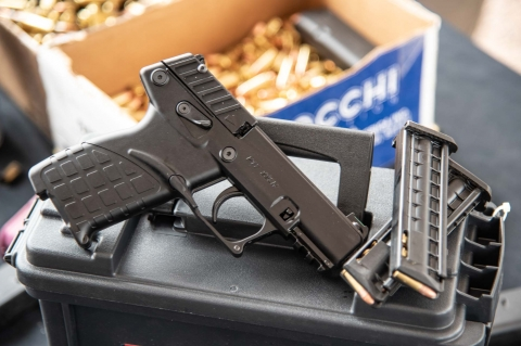 Kel-Tec P17 .22 Long Rifle semi-automatic pistol