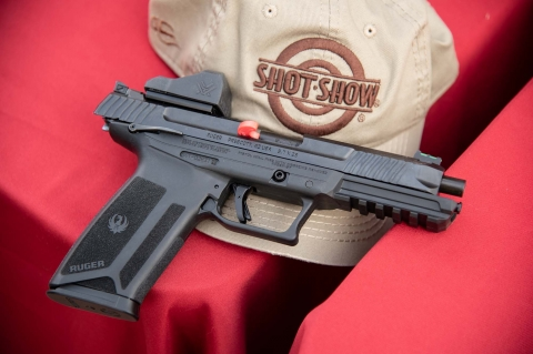 The new Ruger-57 pistol in 5.7x28mm caliber