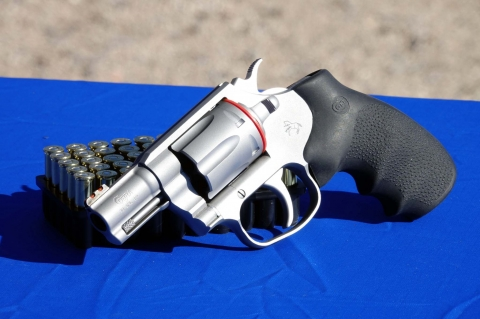The new Colt Cobra revolver