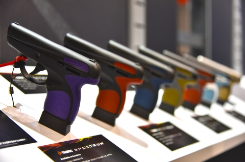 Taurus introduced the Spectrum line of pocket, stock and custom, pistols at the 2017 SHOT Show