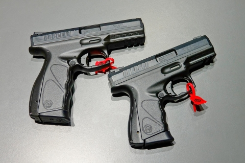 The new Taurus TS Striker-Fired pistol: not yet in the market, it will be available in full and compact size