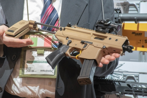 PRIO--- SIG Sauer MPX Copperhead pistol