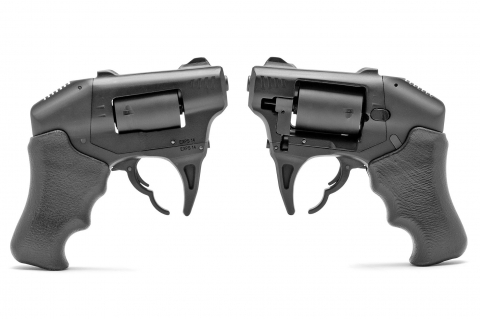 Standard Manufacturing S333 Volleyfire double-action revolver