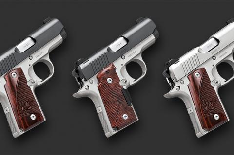 Kimber Micro 9 semiautomatic pistols