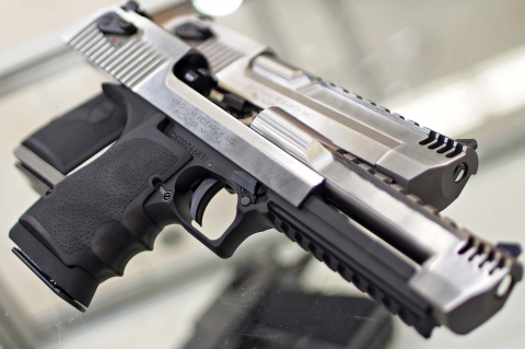 Magnum Research Desert Eagle Stainless Steel pistols