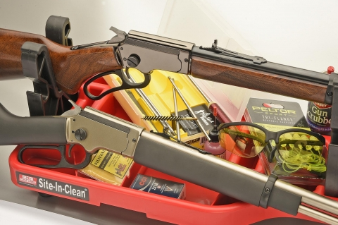 Chiappa Firearms LA322 rifles: the total fun take-down lever guns