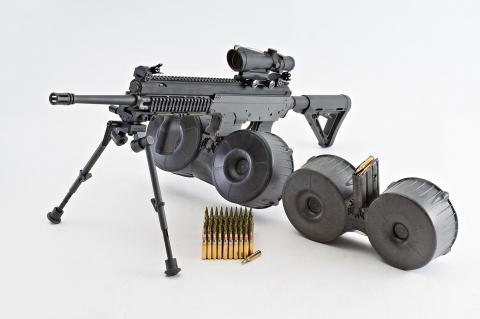 Joshua MK5: the AR/AK Hybrid Rifle