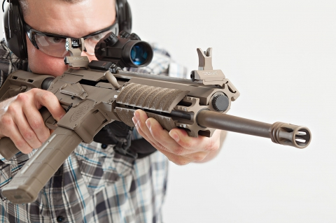 "Could this hybrid rifle put an end to the decades-long ""AR-15 Vs. AK-47"" controversy?"