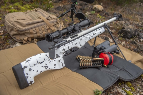 "VIDEO: Sako TRG 22 ""Finland 100"" Jubilee"