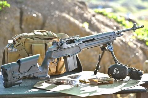 SDM M25 Sniper System rifle