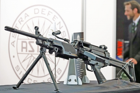 Astra Defense MG556: the civilian-grade Minimi
