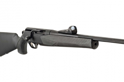 Browning Maral Reflex Compo bolt action rifle: battue-hunting machine, now in a Kite Optics combo!