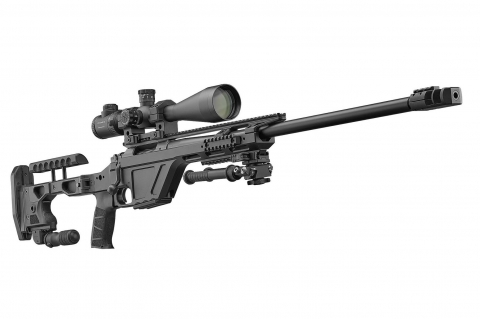 CZ TSR bolt-action tactical sniper rifle