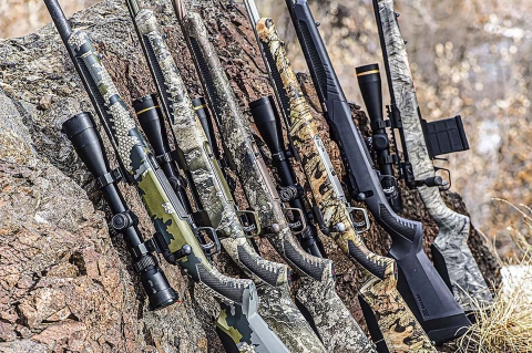 Savage Arms Backcountry Xtreme series of bolt-action hunting rifles
