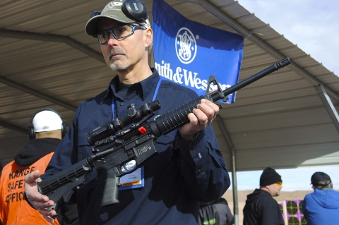 Smith & Wesson M&P-15 Sport II rifle