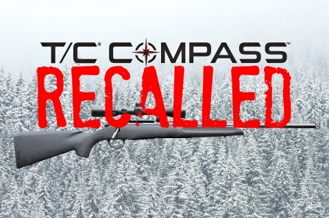T/C Arms recalls the Compass rifle