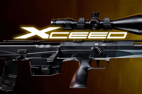 Tec Target Schneider TTS Xceed bull-pup bolt-action rifle