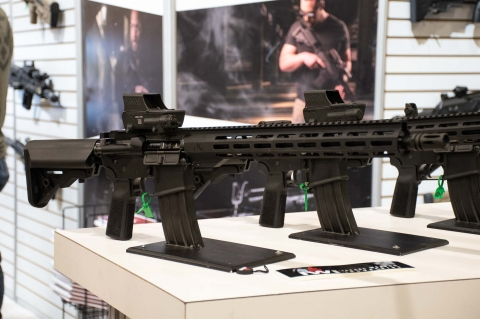 IWI US ZION-15 semi-automatic modern sporting rifle, IWI's first AR-15