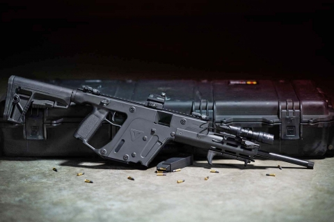 KRISS USA Vector semi-automatic carbine, now in .22 Long Rifle