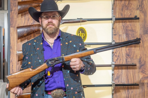 Pedersoli 1886 Sporting Classic lever-action rifle