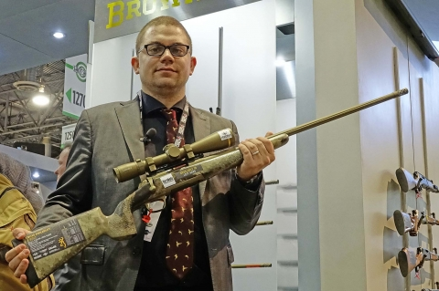 2 new Browning X-Bolt McMillan rifles