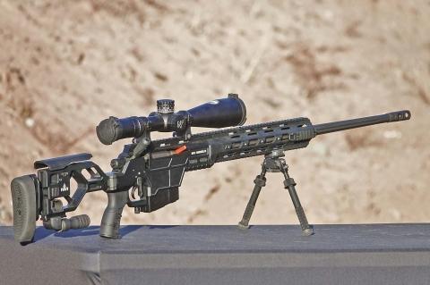 IWI DAN .338 Lapua Magnum, lo sniper israeliano