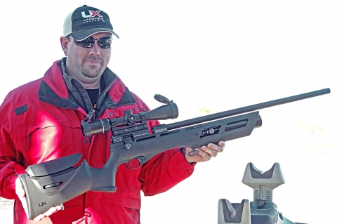 Umarex Gauntlet PCP high-power air rifle