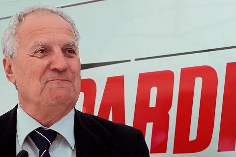 Giampiero Pardini, fondatore e titolare di Pardini Armi