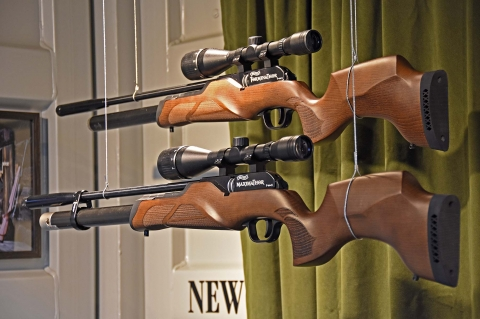New from Wakther: the Walther Maximathor and Walther Torminathor air rifles