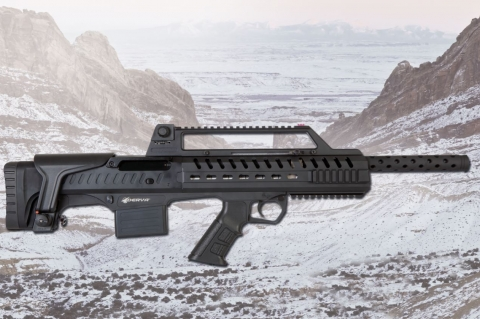 Derya Napoli N-100: the new bull-pup shotgun from Turkey