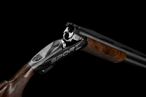 Benelli 828U Sport over-and-under competition shotgun