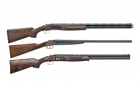 F.A.I.R. shotguns: Iside Basic, Carrera One and SLX 600 Deluxe Black