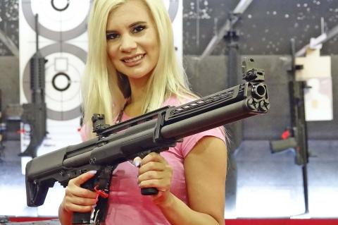 Fucile Kel-Tec KSG-25: più canna, più colpi