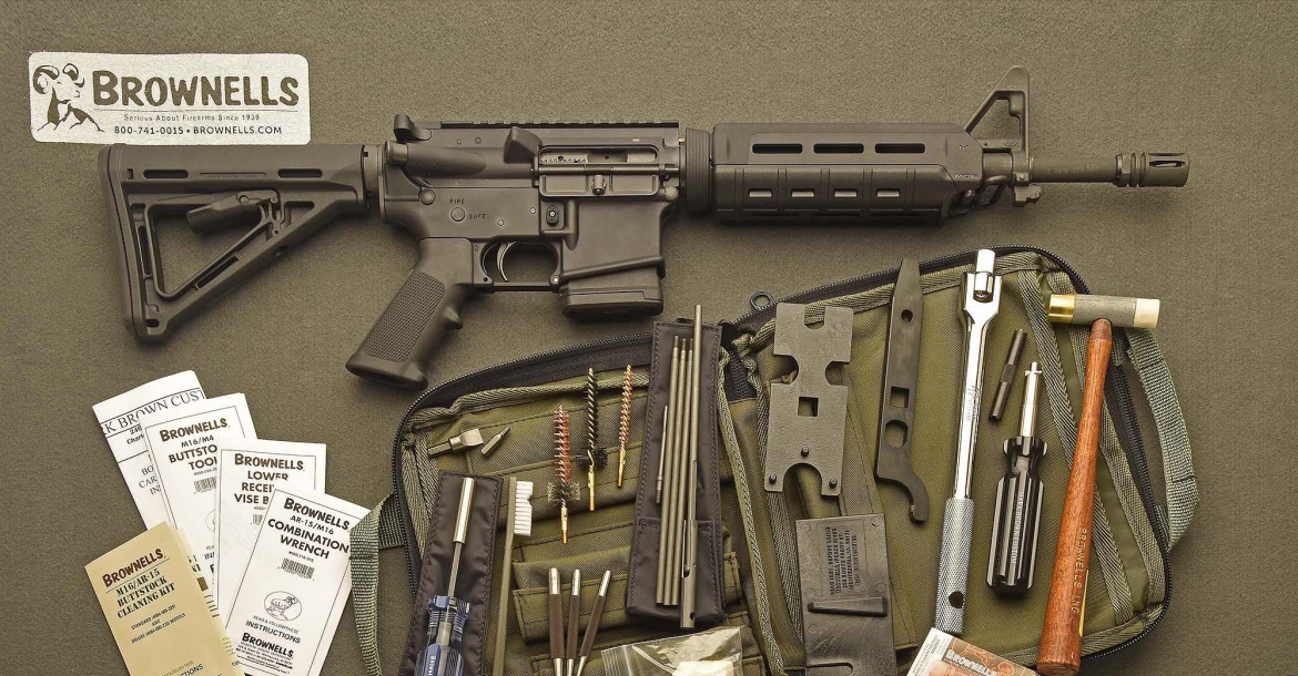 The MaintenanceField Pack for the AR-15 platform