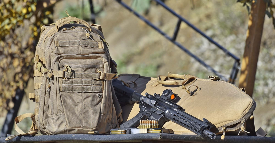 First Tactical TACTIX Half-Day backpack and Rifle Sleeve