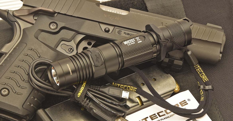 The new Nitecore MH12GT flashlight