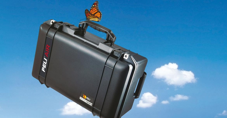 Peli Air 1555 e altro ancora: le nuove valigie ultraleggere per tutti gli usi