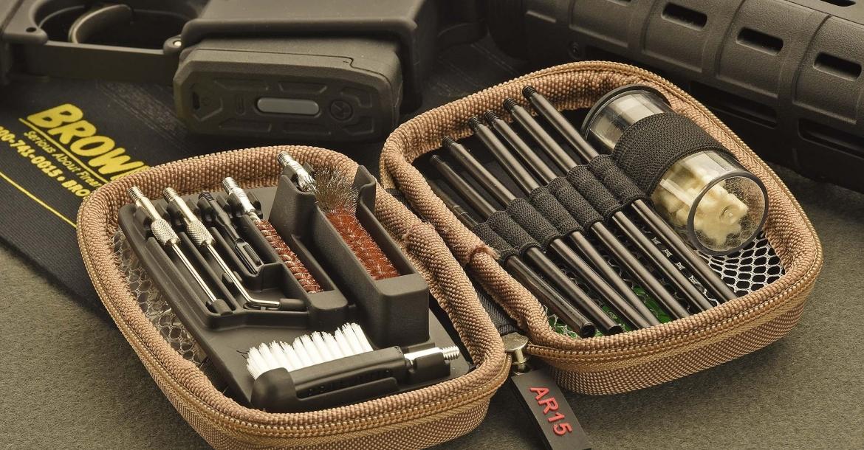 Gun Boss AR-15, kit di pulizia per il Black Rifle
