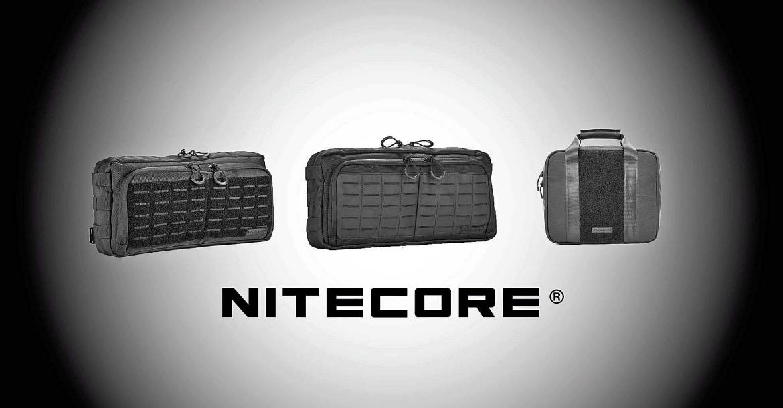 Nitecore NTC10, NEB10 e NEB20: le borse tattiche che non ti aspetti